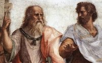 Plato and Aristotle from 'School of Athens' by Raphael