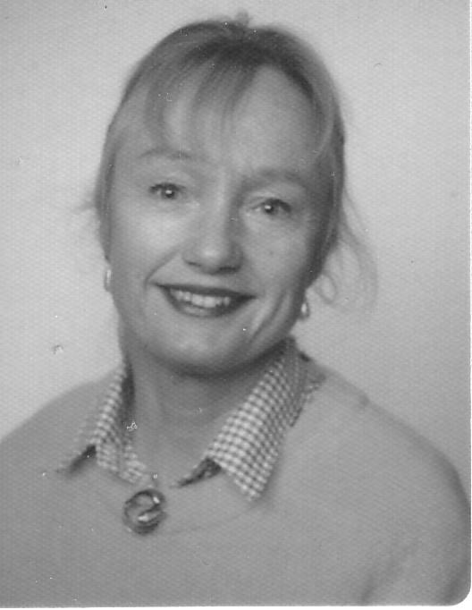Rosemary DOUGHTY, author's wife