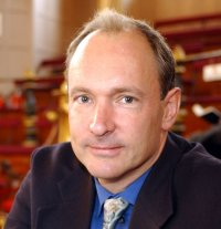 Tim Berners-Lee, inventor of the website